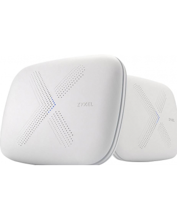 Zyxel WSQ50 MULTI X System - 2 Pack AC3000 Tri-Band Mesh Wireless concept