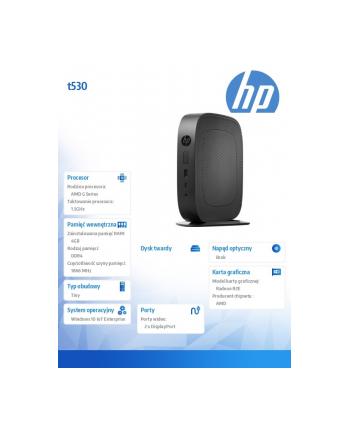 HP Inc. t530 32GB M.2 Flash 4GB/W10 IoT LTSB 2DH81AA
