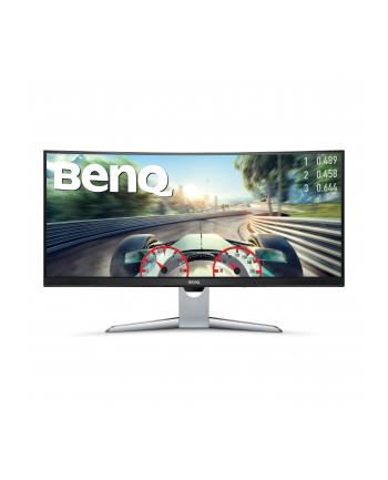 Monitor BenQ EX3501R; 35'' curved,  panel VA, HDR 3440x1440; DP/HDMIx2/UDB