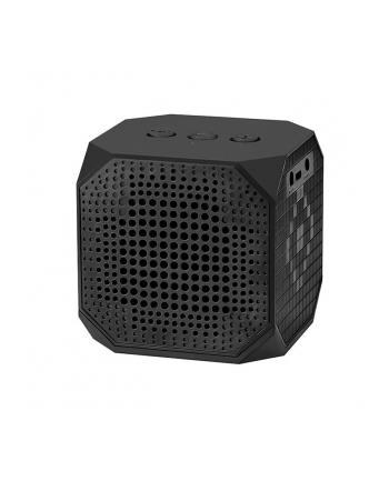 Qoltec Przenośny głośnik Bluetooth | 3W | Double Speaker | Czarny