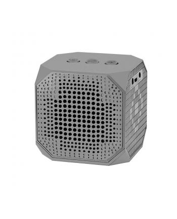 Qoltec Przenośny głośnik Bluetooth | 3W | Double Speaker | Szary