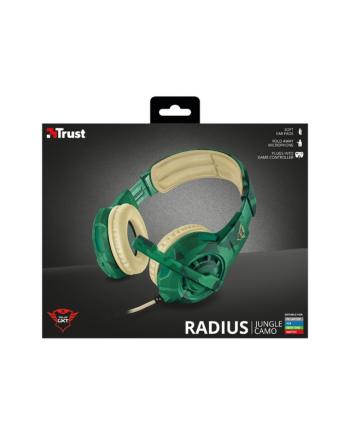 Trust GXT 310C Słuchawki Radius Gaming - jungle