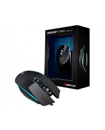 BIOSTAR Usb Mouse , Black