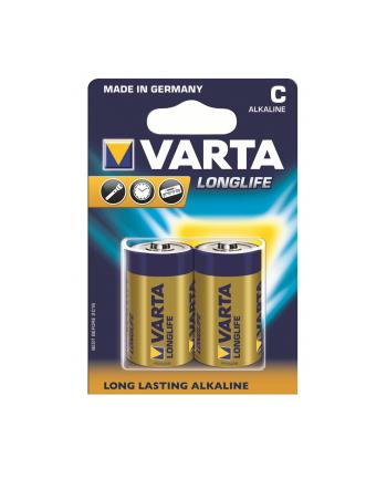 Baterie alkaliczne R14 (typC)longlife 2szt.