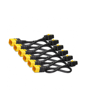 AP8712S 6szt kabli  C19-C20, 0,6m zabezp.