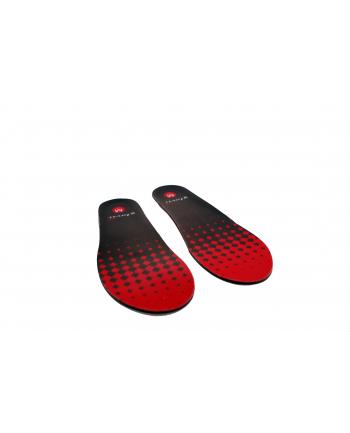 Glovii - Ogrzewane wkładki do butów z pilotem, czarno-czerwone rozmiar M (35-40)