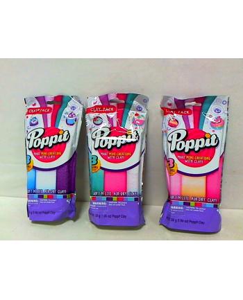POPPIT Modelina kremowa, jasno różowa, różowa