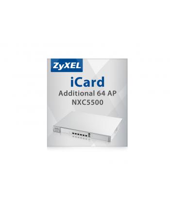 E-icard 64 AP Lic Upgrade for NXC5500 LIC-AP-ZZ0005F