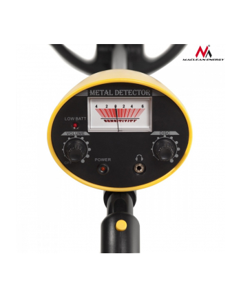 Wykrywacz metali z dyskryminatorem Energy MCE991- żółty