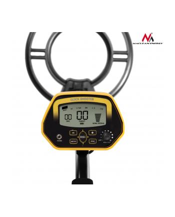 Wykrywacz Metali z dyskryminatorem Energy MCE993 Shooter - żółty