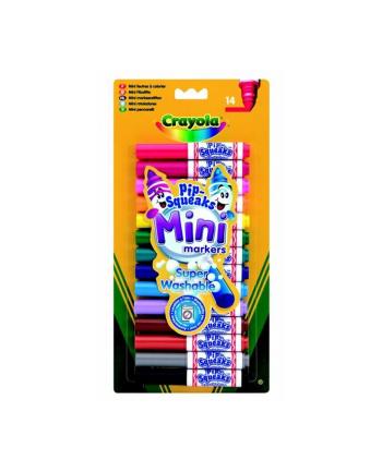 Zestaw mini markerów 14 kolorów