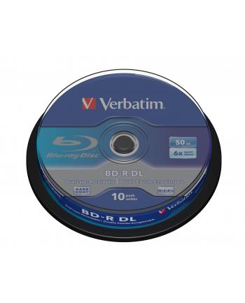 BD-R DL(10-pack) 50GB/6x/spindle