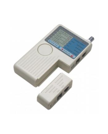 Tester okablowania RJ11 /RJ45/USB/BNC