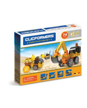 Klocki CLICFORMERS 70el Maszyny budowlane