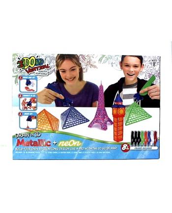 FORMATEX Metaliczny kolor 8 długopis VERTICAL 6091