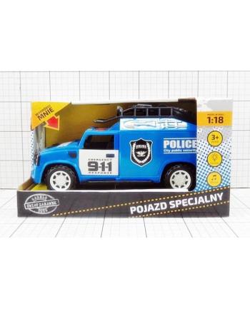Auto policja plast.w pud.  G091785