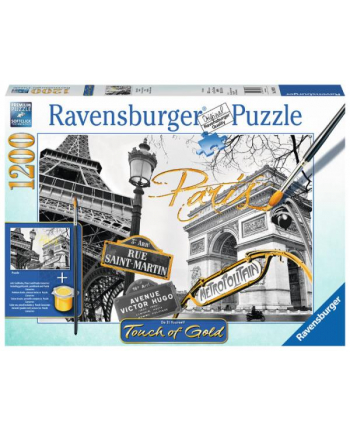 Puzzle 1200el Paryż - puzzle do malowania 199358 RAVENSBURGER