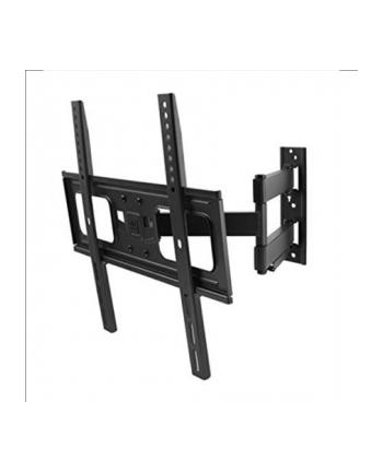 Obrotowy uchwyt TV dwuramienny 32-84' 50kg VESA od 200x200 do 600x400 przechylenie do 20 stopni OFA
