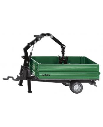 SIKU 2896 FARMER Przyczepa transportowa z łyzką