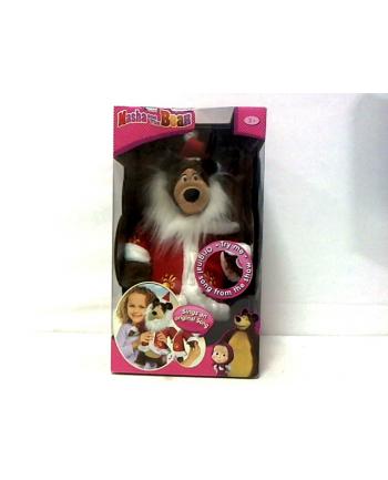 Masza i Niedźwiedź Świąteczny Misza 43cm SIMBA