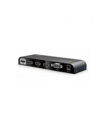 Przełącznik HDMI 2.0 3x1 UHD 4Kx2K, 3D z pilotem