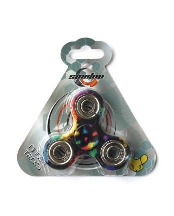 Spintop - Fidget Spinner wielokol. 90 sek rainbow