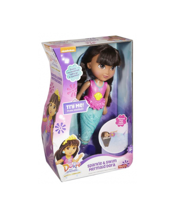 Fisher Price Dora Magiczna pływaczka - syrenka Dora