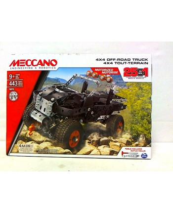 Meccano Core - MULTI zestaw 25 modeli - pojazd ciężarowy 4x4