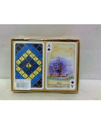 Karty do gry 2 talie Trójmiasto akwarele 01696
