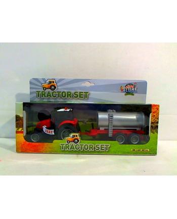 Traktor z przyczepą światło/dźwięk HKG085