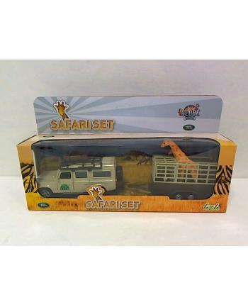 Land Rover z przyczepą i żyrafą 521723