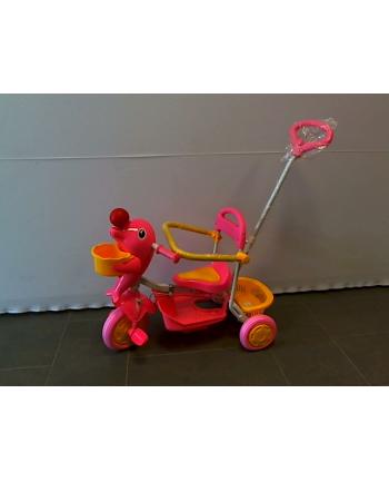 Rowerek trójkołowy róż/nieb X20411E