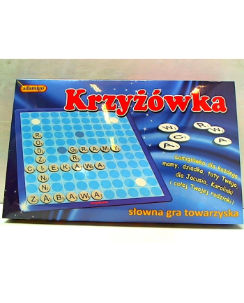 Krzyżówka gra edukacyjna 05482