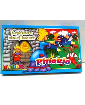 2 gry Pinokio/Złota kaczka 54124