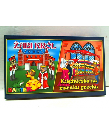 2 gry Żabi król/Księżniczka na ziarnku 54162