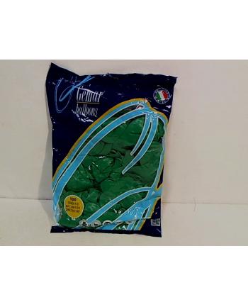 Balon G90 pastel 10'' ziel turkus/100szt G90/ZT/13