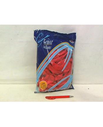 Balon G90 pastel 10''-czerwony/100 szt G90/CZ/45