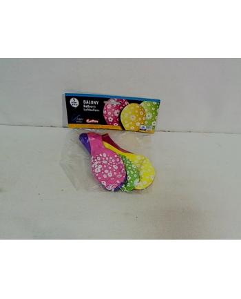 Balony premium Kwiatuszki 12''/5szt GS110/P107