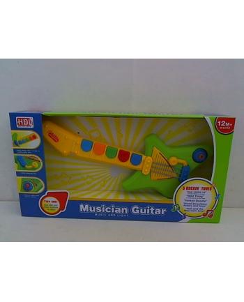 Gitara z 3 piosenkami 38 cm H11557