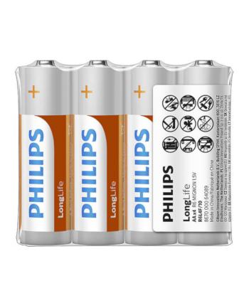 Bateria PHILIPS R06 4 szt/folia