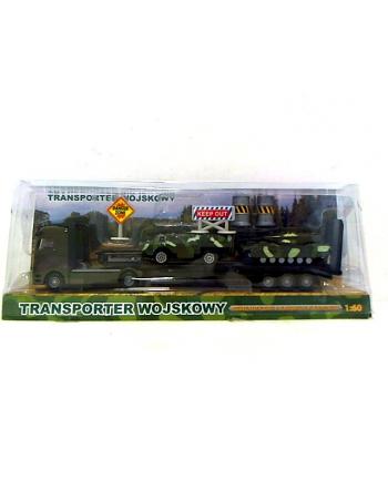 Transporter wojskowy + 2 pojazdy HKG083