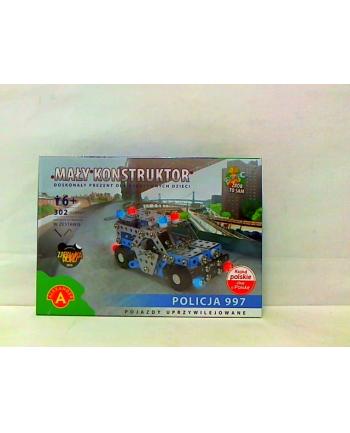 Mały konstruktor policja 16222