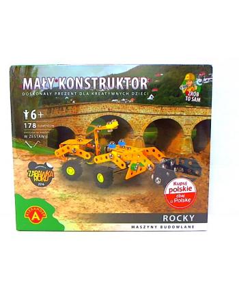 Mały konstruktor maszyny bud. Rocky 16307