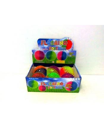 Piłka z kolcami przeźroczysta 12cm HPA08