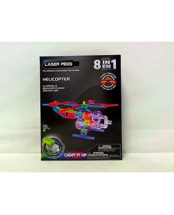 LASER PEGS 8w1 klocki helikopter świecące G1270B