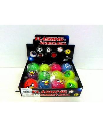 Piłki świecące 5,5cm mix SPPIE16016