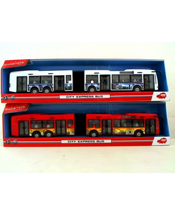 Dickie autobus City Express 2 rodz 374-8001(WYSYŁKA LOSOWA, BRAK MOŻLIWOSCI WYBORU)