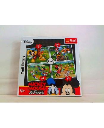 Puzzle 4w1 ZABAWY W PARKU 34261