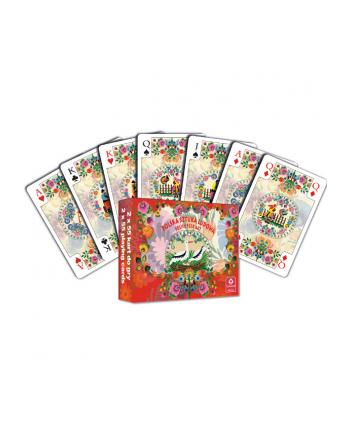 Karty do gry 2 talie Polska Sztuka Ludowa 02242