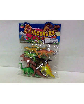Dinozaury 6-8cm 8szt HHS068